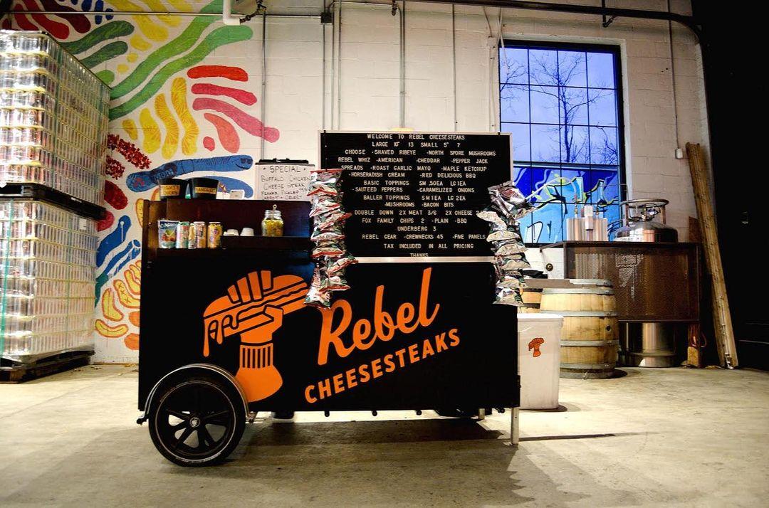 Rebel Cheesesteaks